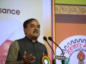 Local MP Ananth Kumar speaks