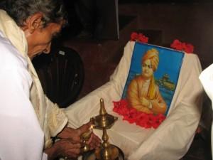 Inauguration by Balakrishna Tantri