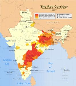 India: The Red Corridor