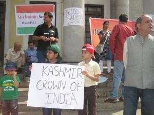 Kasmiris observe Holocaust Day in Bangalore Jan 19-2013