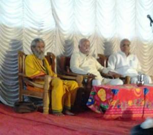 RSS Sarasanghachalak Mohan Bhagwat, Sarakaryavah Suresh Bhaiyyaji Joshi met Sitaram Kedilaya at Panwel, Mharashtra on  January 28, 2013.