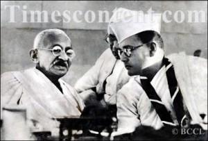 Mahatma Gandhi-Subhash Chandra Bose