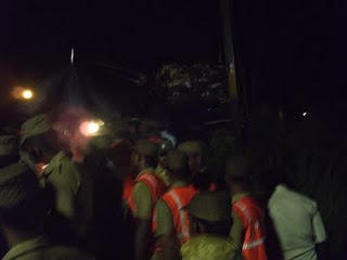 RSS Swayamsevaks at rescue operations at Chennai Train accident