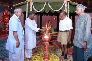 Noted Hindustani Singer Pandit Venkatesh Kumar inaugurated Yugadrushti- Pradarshini