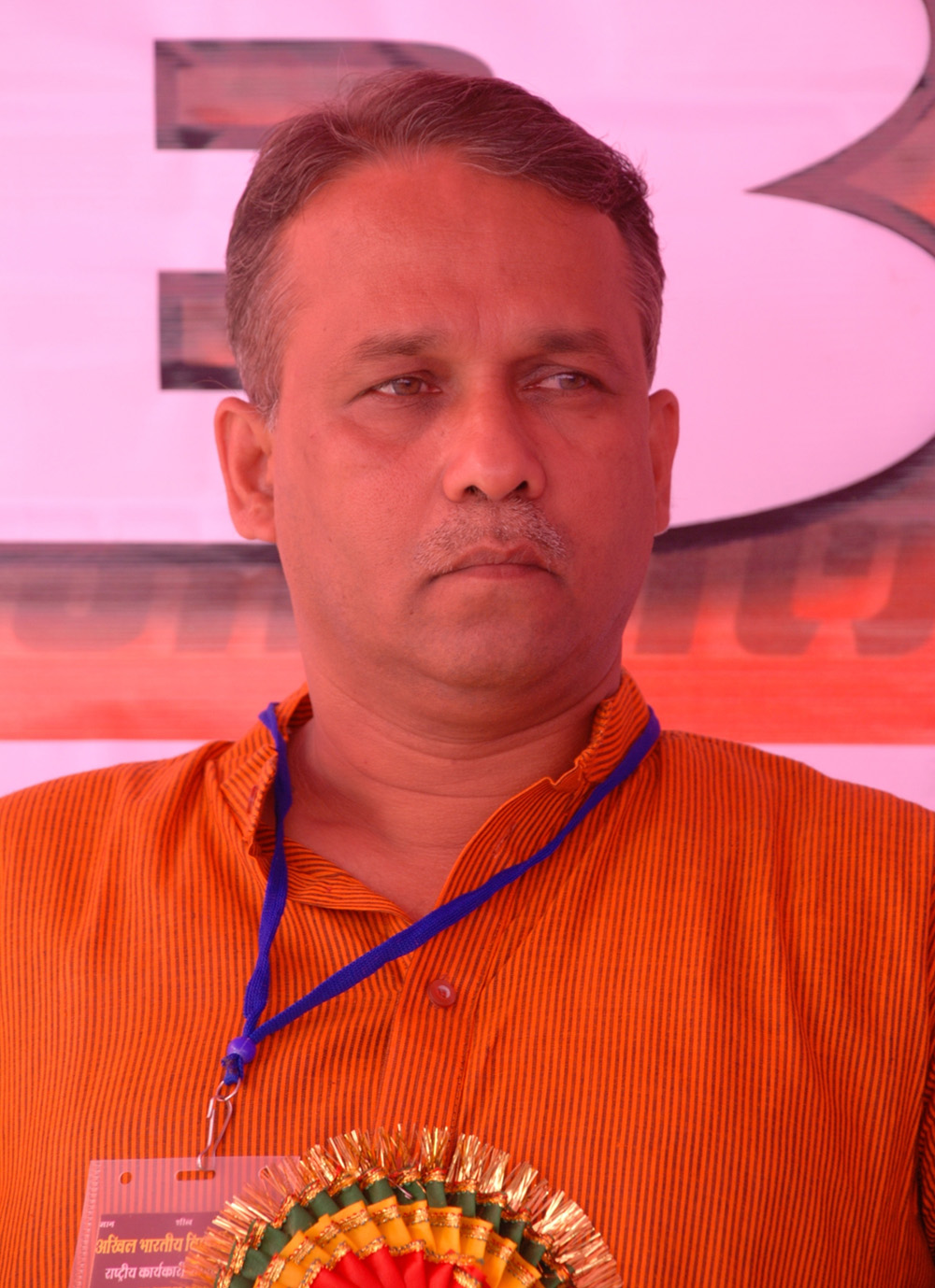 Prof. Milind Marathe re-elected as National President of ABVP