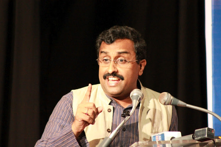 RSS Functionary Ram Madhav's speech abstract at Tehran Conference, held on Dec-24-2012