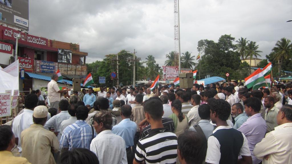 Shimoga: RSS leader Pattabhiram demands rejection of Interlocutors report on JK