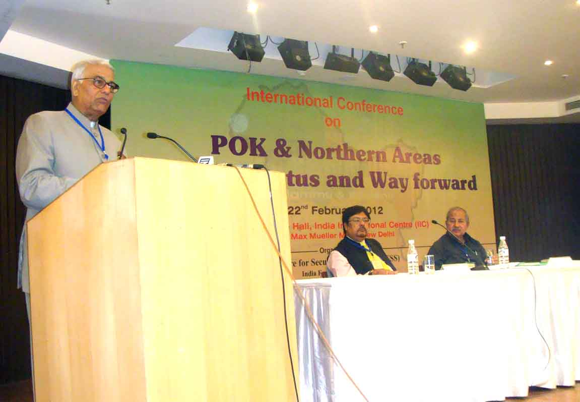 Kashmir Imbroglio: International Conference at New Delhi on Pak Occupied Kashmir