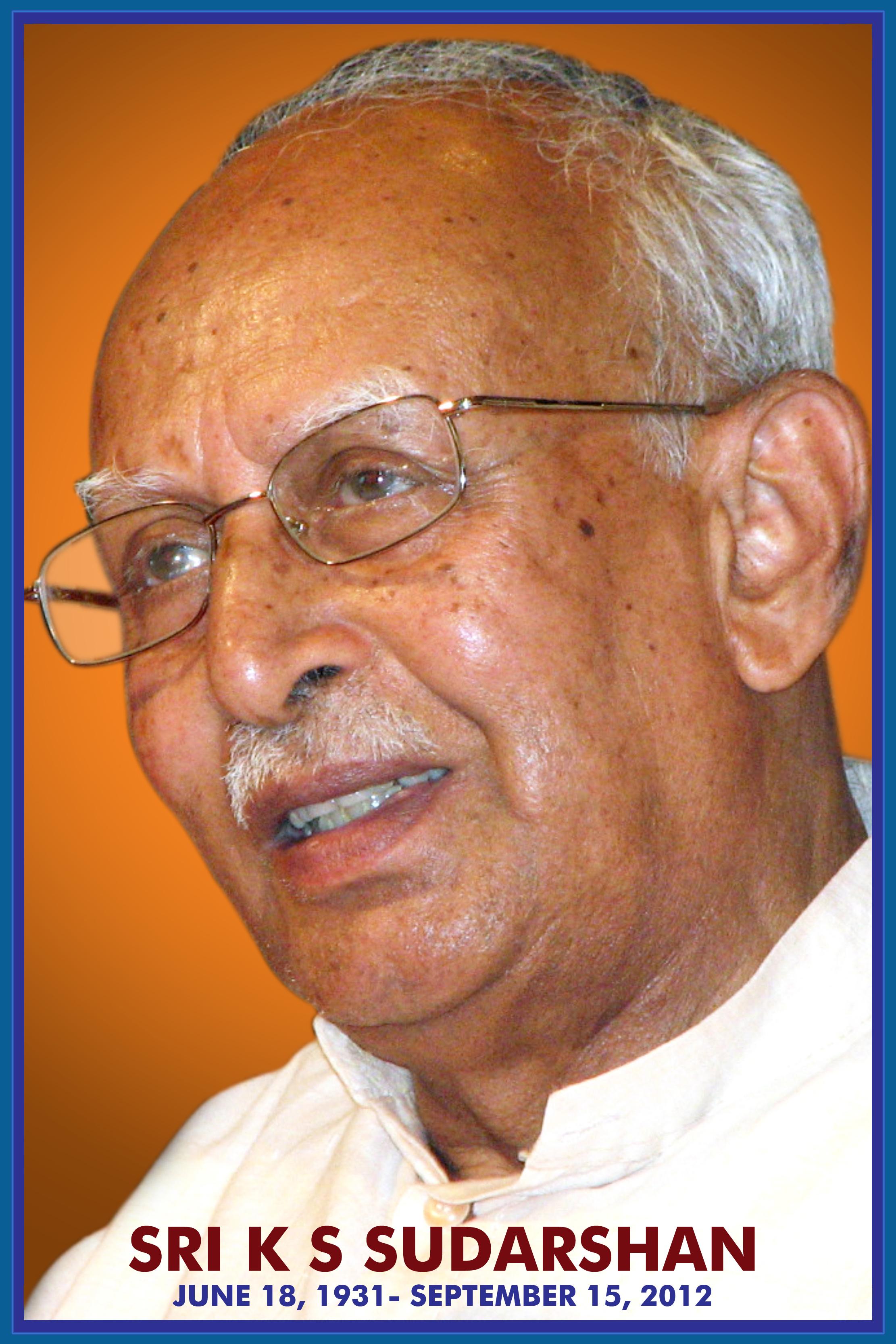 KS Sudarshan, RSS Former Sarasanghachalak
