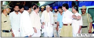Top Sanghparivar leaders arrives to Puttur