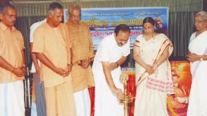 Vivekanada book release-congress MLA Satheesan