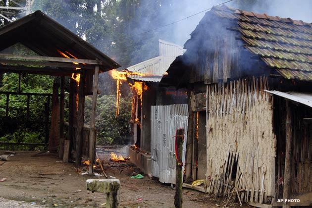 Photos: Assam Violence