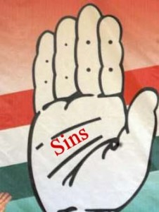 Sins of Congress 2011; writes Kiran Kumar