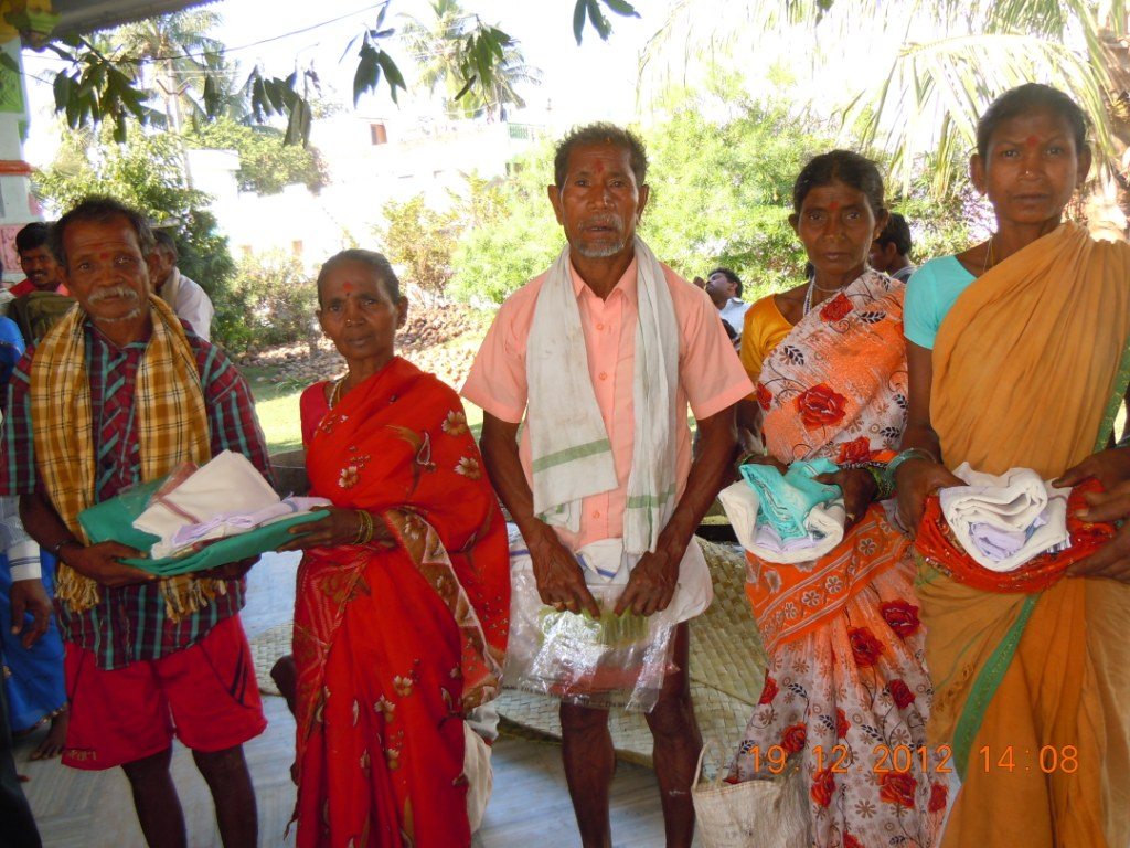 175 practicing Christians returned back to Hinduism in Paravartan Ceremony by VHP at Palakonda
