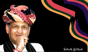 Ashok Gehlot, Chief Minister of Rajasthan