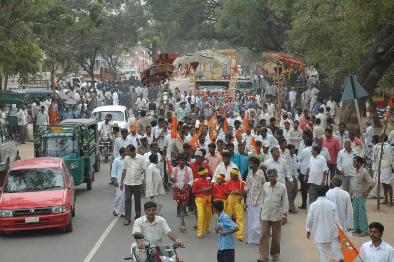 Gou Gram Yatra enters Karnataka