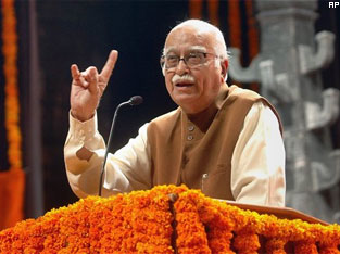 Corruption issue is catalyst for change: Advani