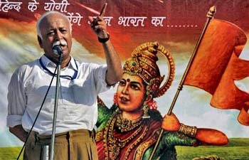 RSS Chief Mohan Bhagwat says 'Government lacks will to fight terror threats'